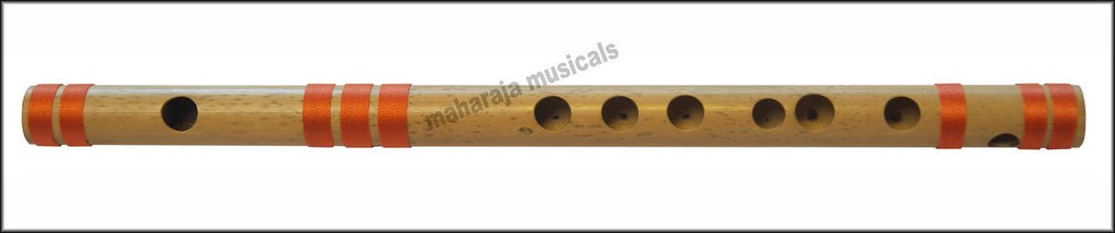 SANSKRITI MUSICALS Flutes - Bansuri A Natural Medium 11 inches - CEB