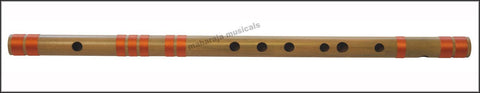 SANSKRITI MUSICALS Flutes - Bansuri C Natural Medium 19 inches - CEH