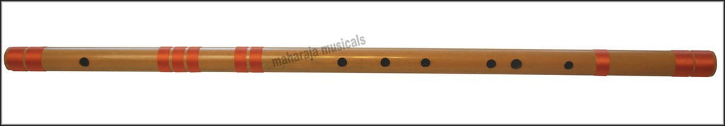 SANSKRITI MUSICALS Flutes - Bansuri C Sharp Base 34 inches - CFJ