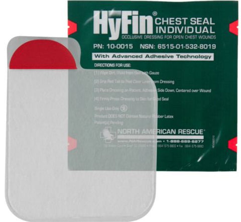 NAR HyFin Chest Seal Individual