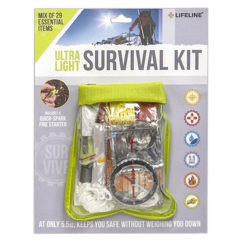 Lifeline Ultralight Survival Kit 29-piece