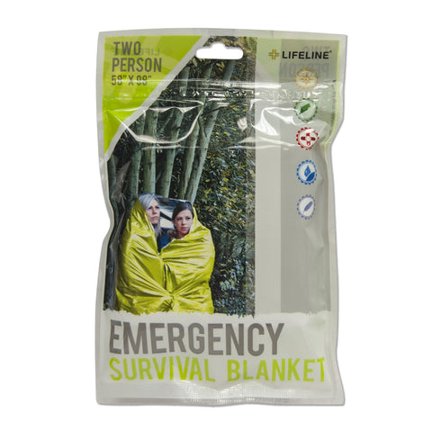 Lifeline Two-Person Survival Blanket