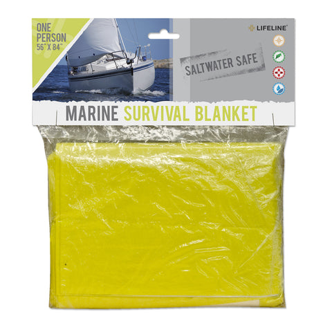 Lifeline Single Person Marine Survival Blanket