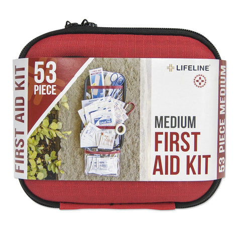 Lifeline 53-piece Medium First Aid Kit (Hard Case)