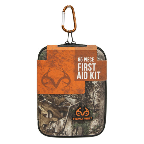 Lifeline 85-Piece Large First Aid Kit (Realtree Camo Hard Case)