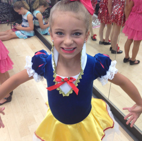 Little Girls Snow White Costume