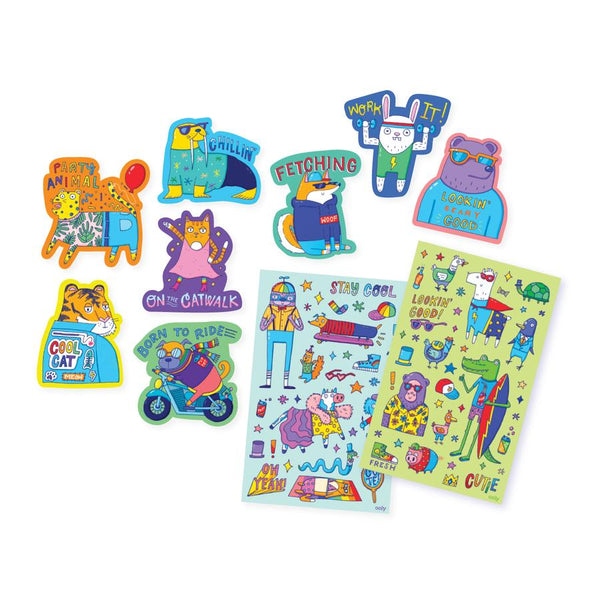 OOLY Scented Scratch Stickers (Dressed to Impress)