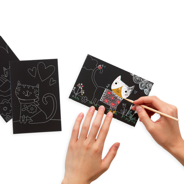 OOLY Mini Scratch & Scribble Art Kits