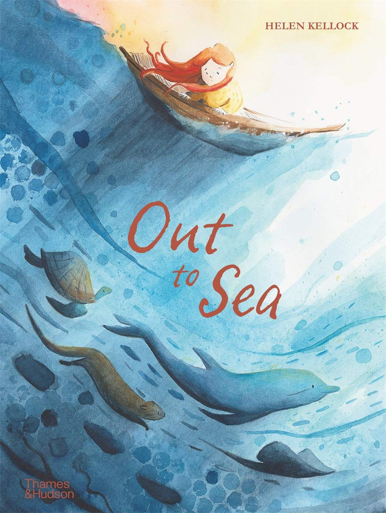 Out to Sea (by Helen Kellock) Hardcover – Illustrated