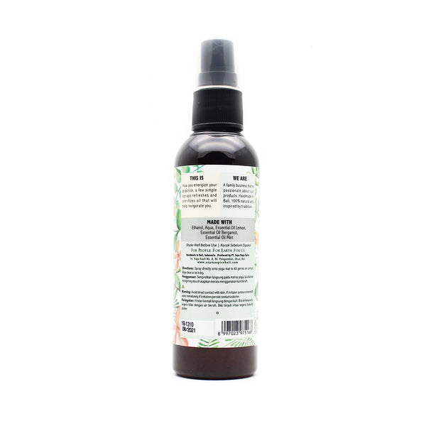 Utama Spice Yoga Mat Spray - Energizing