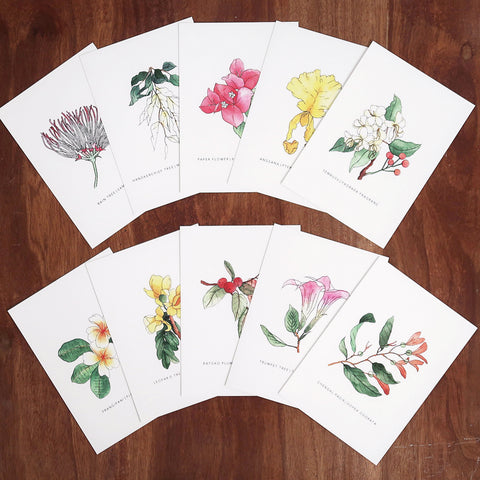 A GARDEN CITY COLLECTION-postcards by Dottieshop