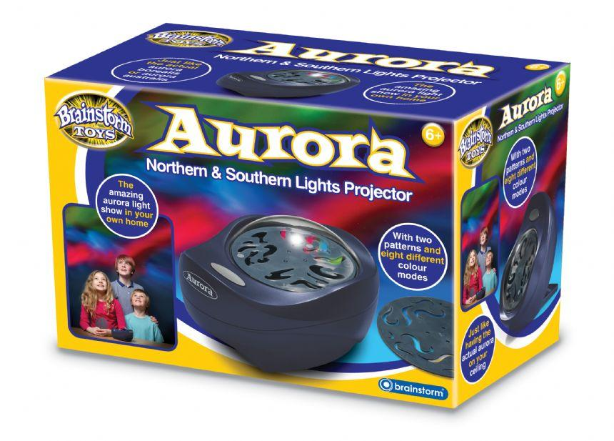 Aurora Northern & Southern Lights Projector by Brainstorm
