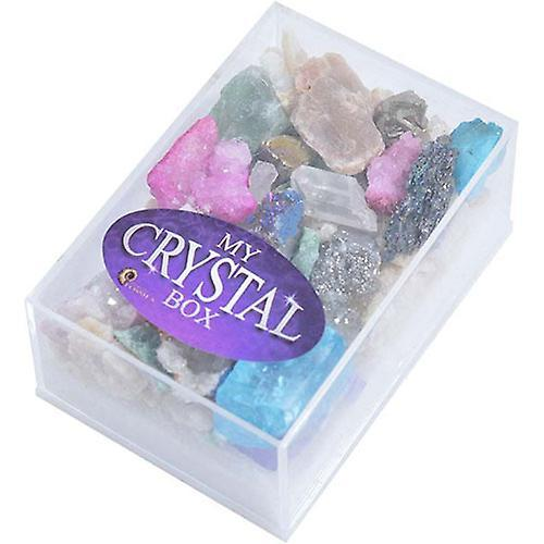 British Fossils - Crystal Box