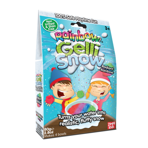Zimpli Kids Gelli Snow Rainbow Pack