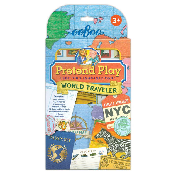 PRETEND PLAY - WORLD TRAVELLER, BY EEBOO
