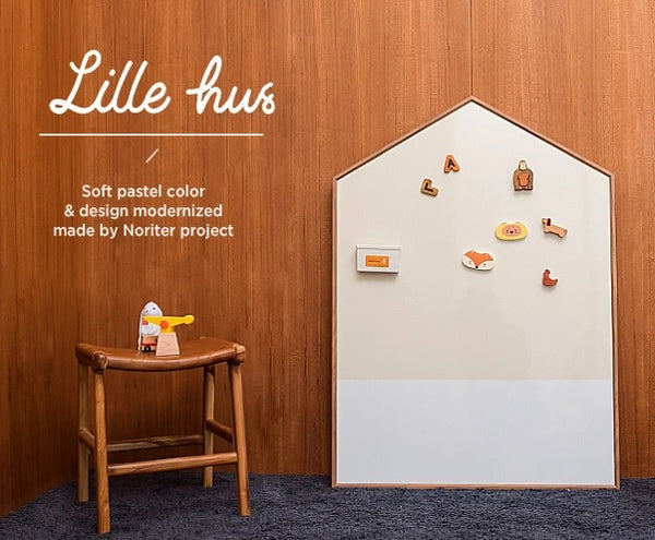 Noriterboard - Lillie Hus Board in Natural Wood