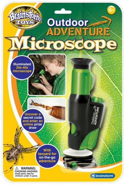 Outdoor Adventure Microscope by Brainstorm