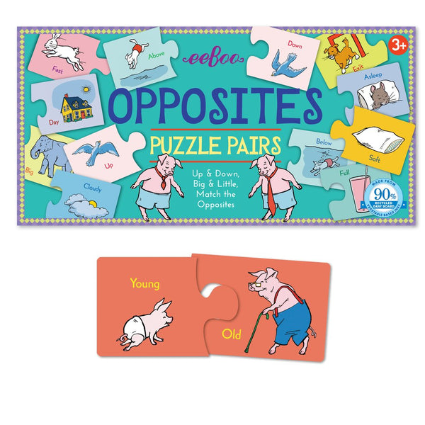 OPPOSITES PUZZLE PAIRS, BY EEBOO