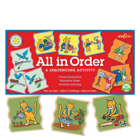 ALL IN ORDER: SEQUENCING PUZZLE ACTIVITY, BY EEBOO