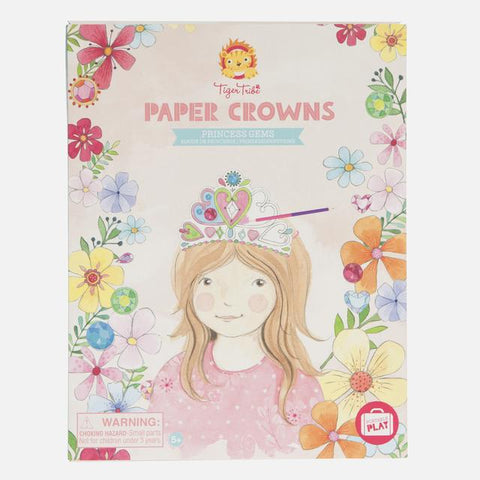 Paper Crowns - Princess Gems by Tiger Tribe