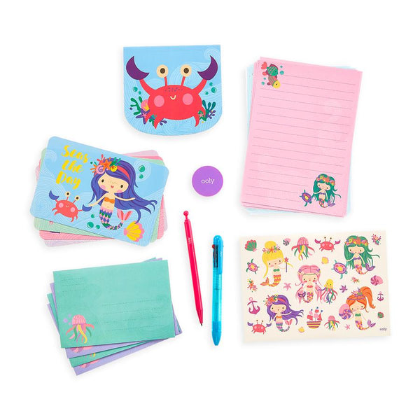 OOLY On The Go Stationery Kit (Magical Mermaids)