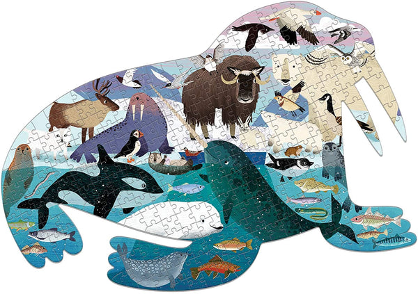 Arctic Life Shaped Puzzle (300pc)