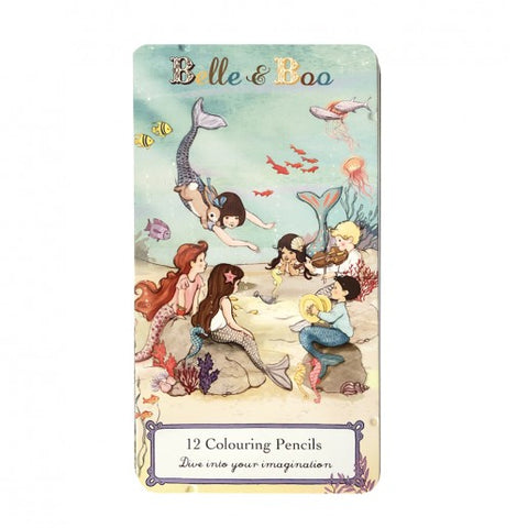 Mermaid Pencil Tin from Belle & Boo