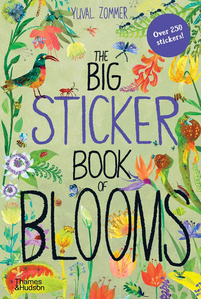 Yuval Zommer The Big Sticker Book of Blooms (The Big Book Series)