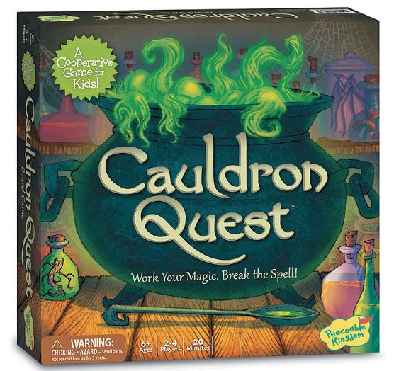 Cauldron Quest by Peaceable Kingdom