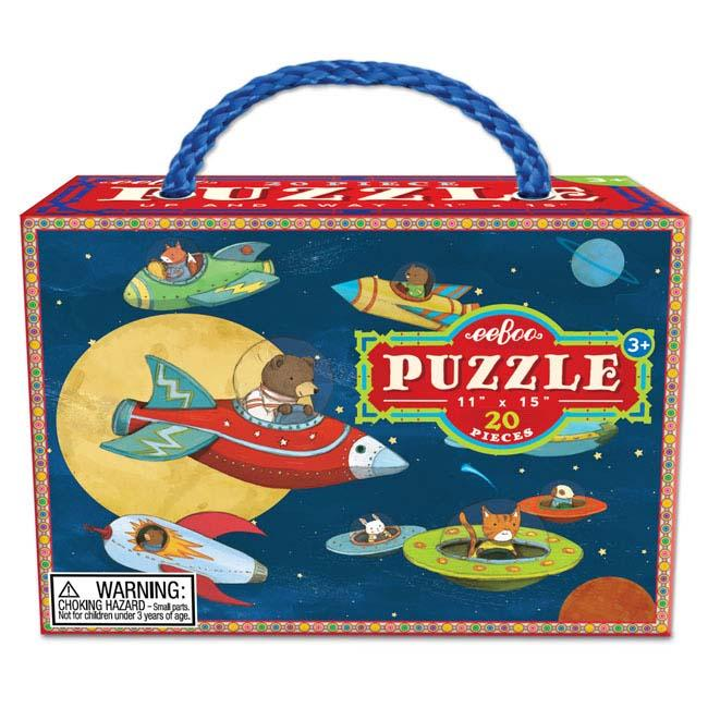 Up and Away 20 Pc Puzzle by Eeboo
