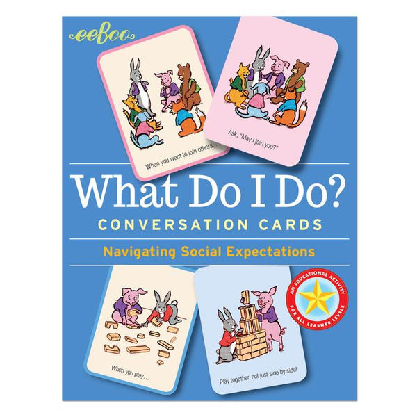WHAT DO I DO FLASHCARDS, BY EEBOO