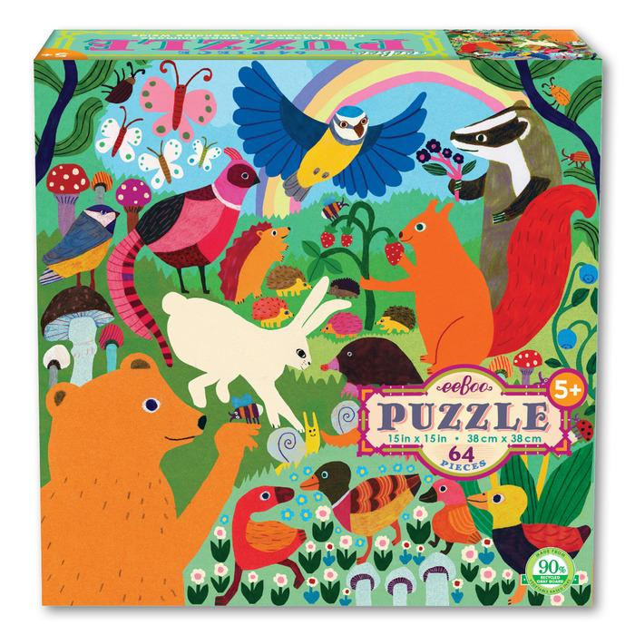 BUSY MEADOW 64PC PUZZLE, BY EEBOO
