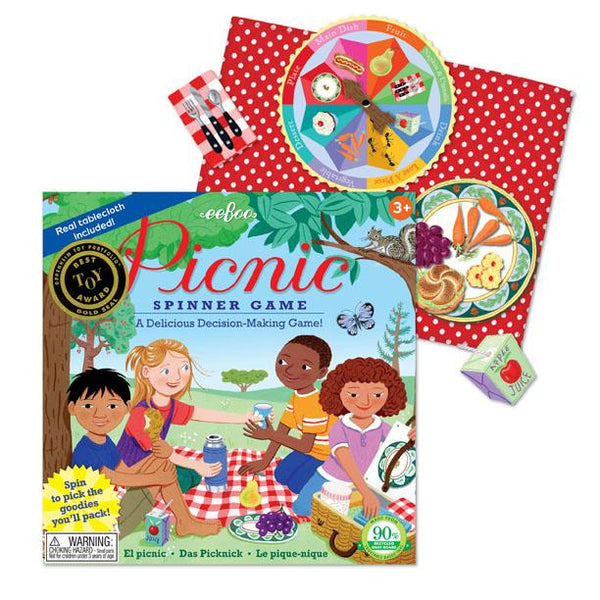 PICNIC SPINNER GAME, BY EEBOO