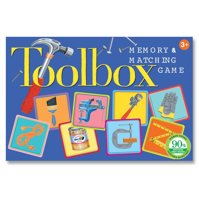 TOOLBOX LITTLE MATCHING GAME, BY EEBOO