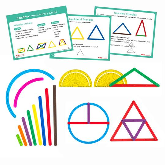 EDX Geostix Math Concepts Learning Activity Set