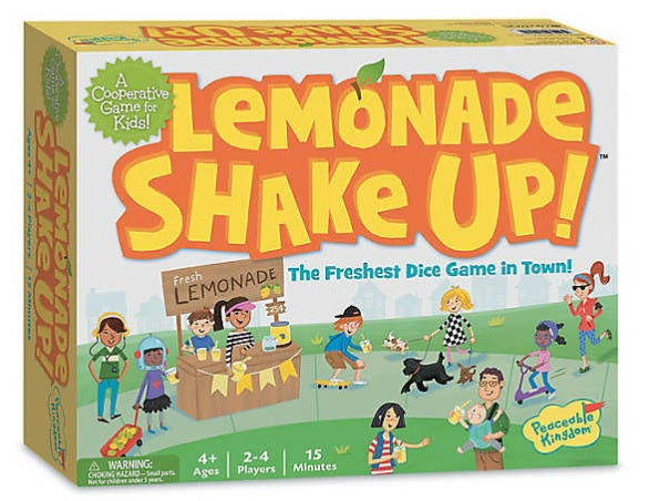 Peaceable Kingdom Lemonade Shake Up: The Freshest Dice Game in Town