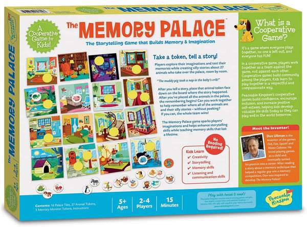 Peaceable Kingdom The Memory Palace: The Storytelling Game