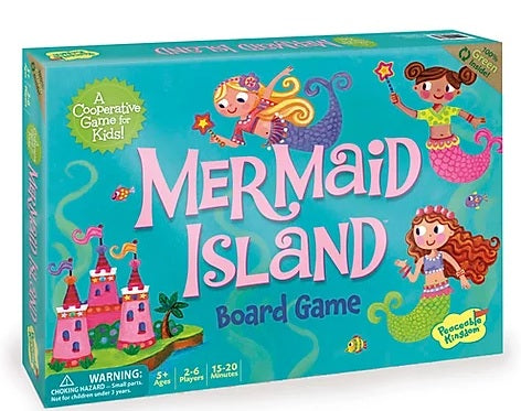 Peaceable Kingdom Mermaid Island: An Underwater Game of Adventure!