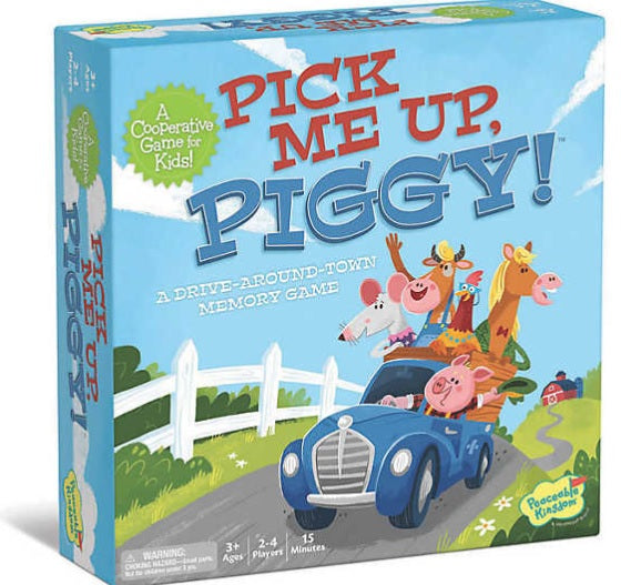 Pick Me Up, Piggy! by Peaceable Kingdom
