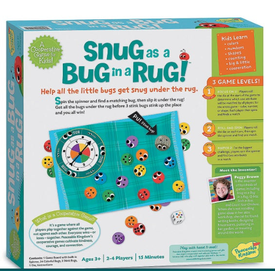 Snug As A Bug In A Rug by Peaceable Kingdom