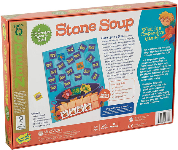 Stone Soup by Peaceable Kingdom
