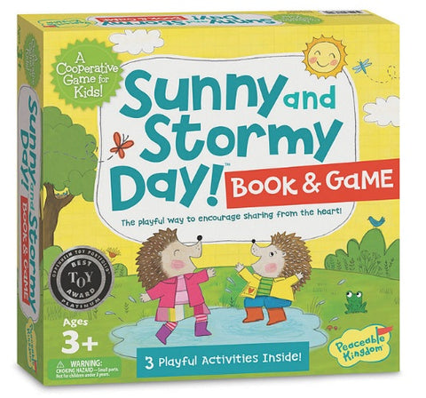 Sunny and Stormy Day by Peaceable Kingdom