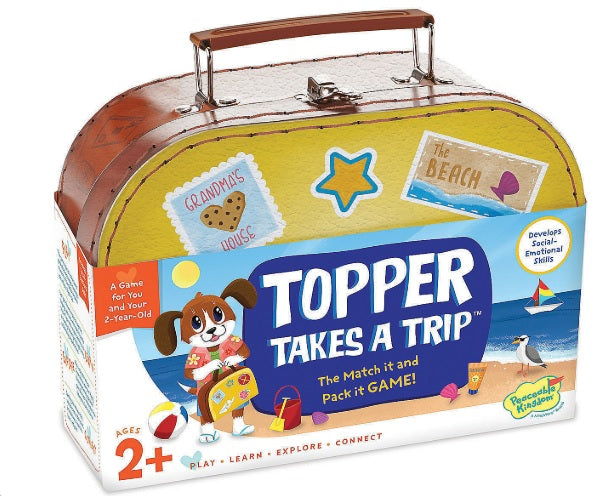 Topper Takes a Trip by Peaceable Kingdom
