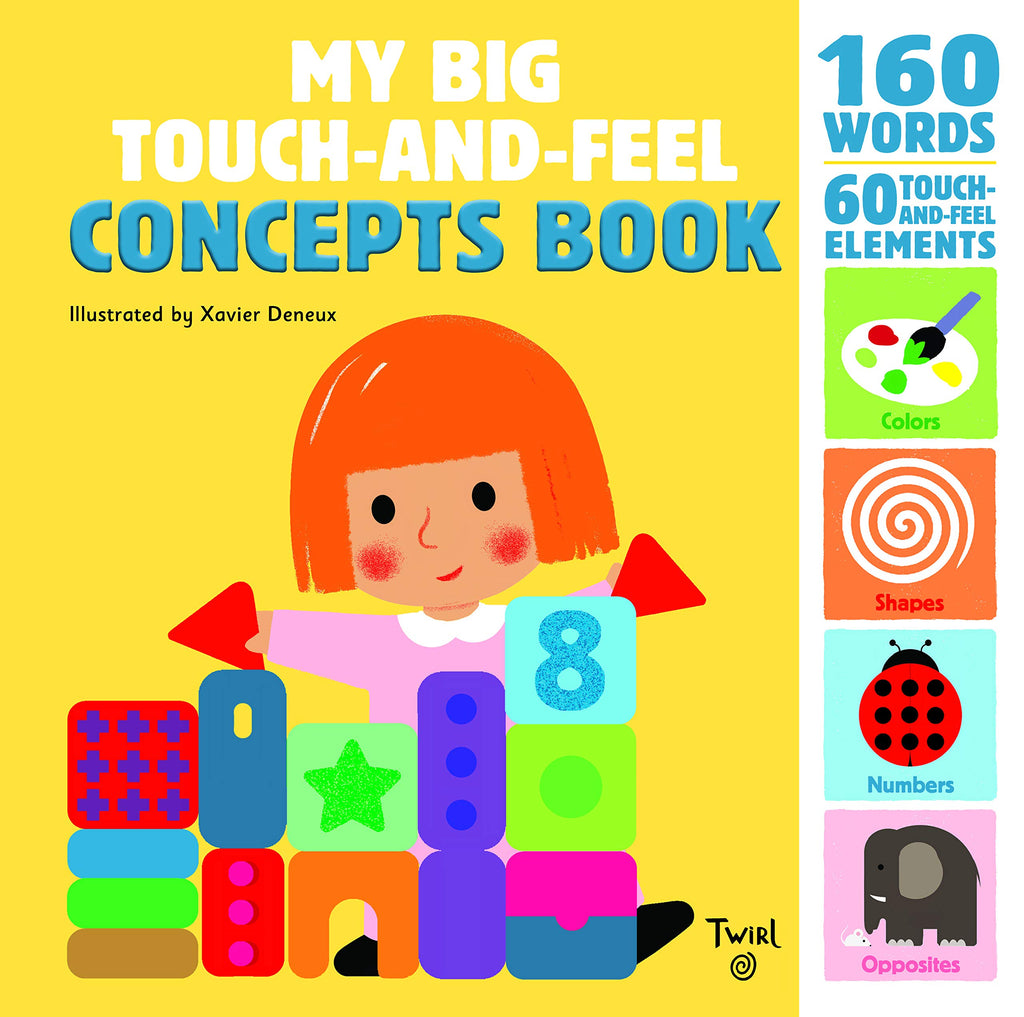 My Big Touch-and-Feel Concepts Book: 2
