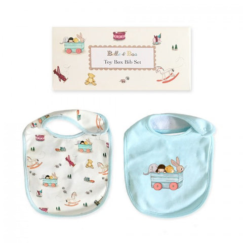 Toy Box Baby Bibs Set from Belle & Boo