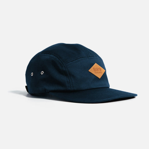 BRo 5 Panel Cap - Navy