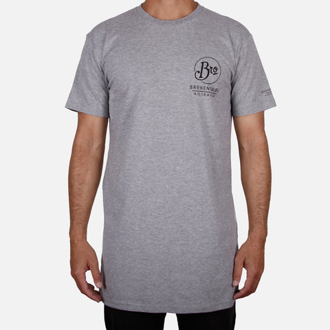 TRIBE Tee / Grey Marle - AVAILABLE IN AUSTRALIA ONLY