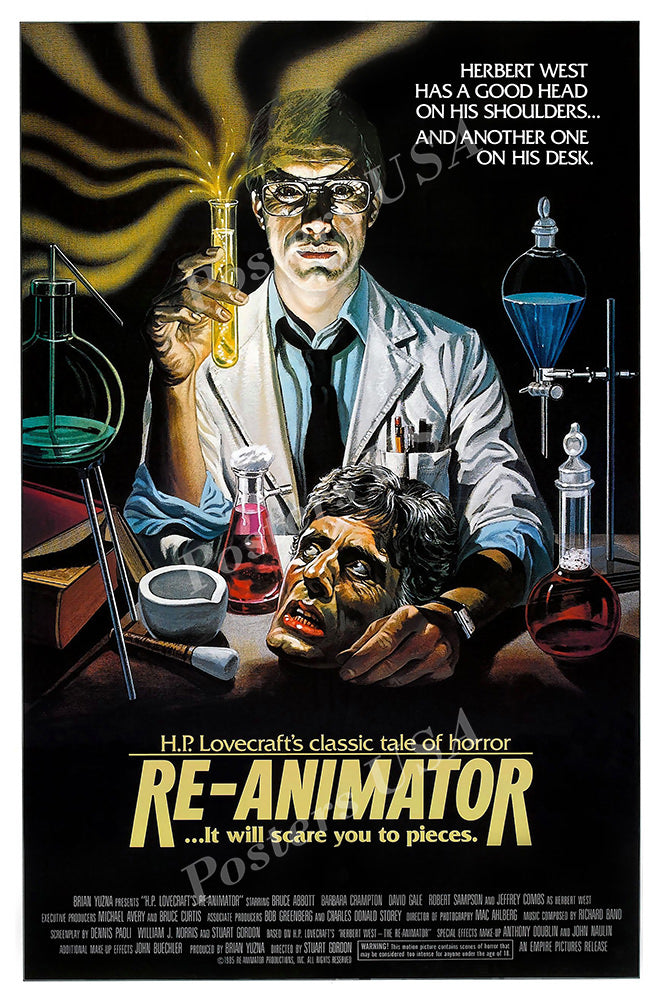 Posters USA - Re-Animator Reanimator GLOSSY FINISH Movie Poster - FIL941