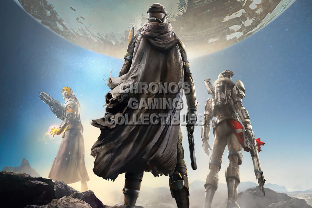 CGC Huge Poster - Destiny Cover Art Sony PS3 PS4 XBOX 360 ONE - DES003