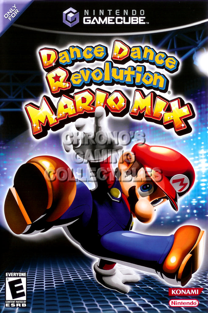 CGC Huge Poster - Dance Dance Revolution Mario Mix - Nintendo GameCube GC - NGC009